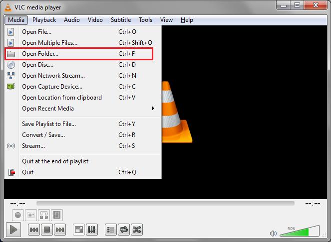 Load Blu-ray Folder