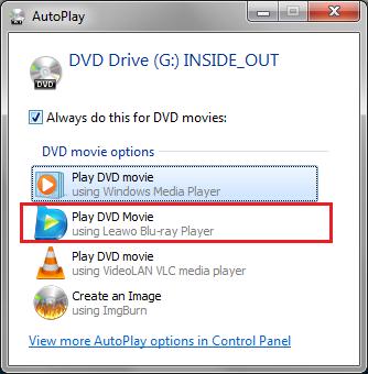 Play Blu-ray with Leawo Blu-ray Player