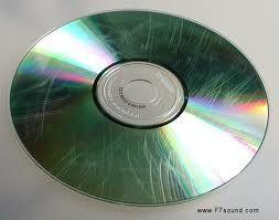 DVD scratch