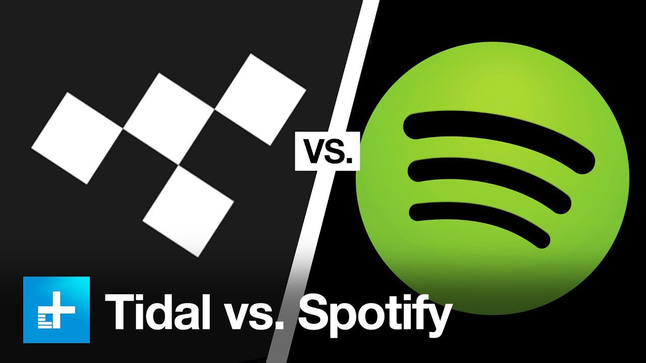 Spotify and Tidal