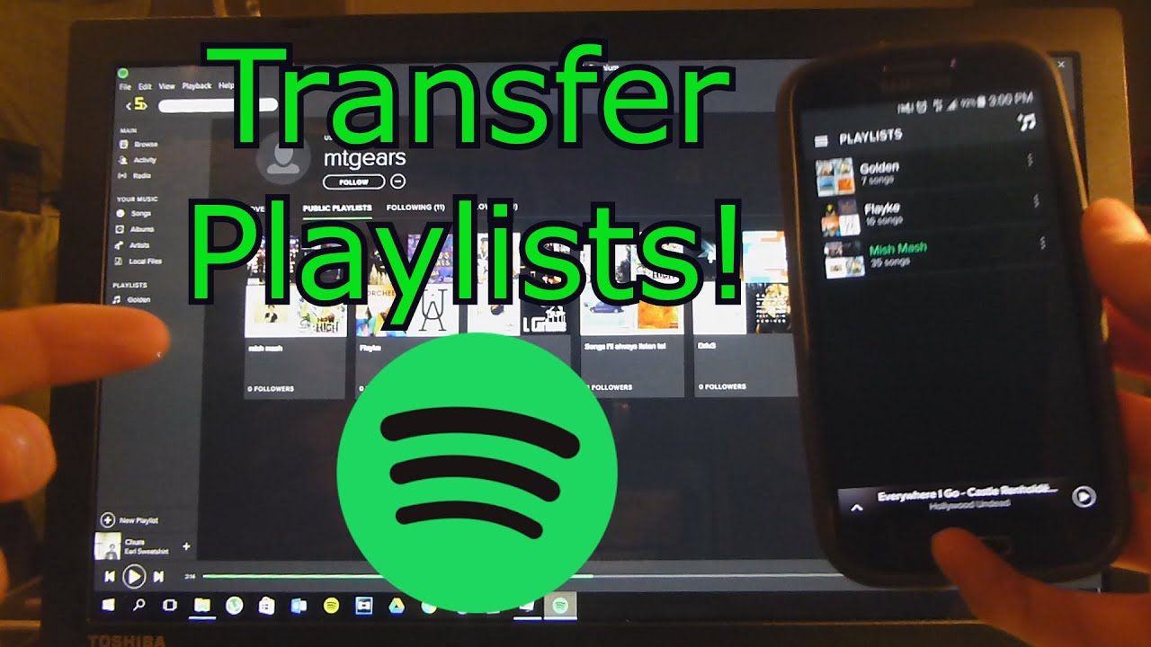 Can I Transfer My Spotify Playlist to another Account
