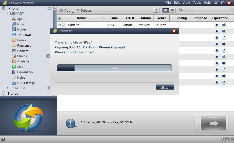 transfer FLV format to iPad