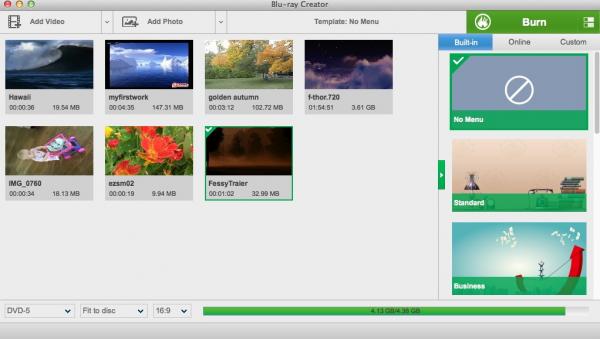 Leawo Blu-ray Creator for Mac 1