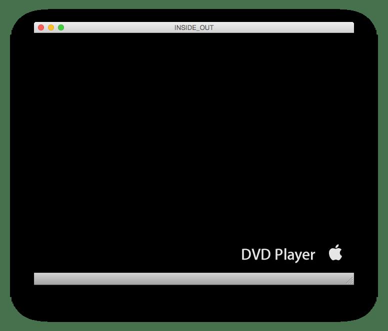 Open Mac DVD Player app