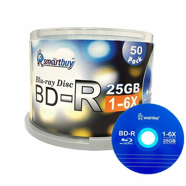 Smartbuy BD-R 25 GB 6 X Blu-ray