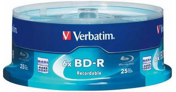 Verbatim-Blu-ray Discs-25GB