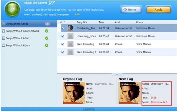 how-to-fix-itunes-library-song-names-via-leawo-tunes-cleaner-apply-5