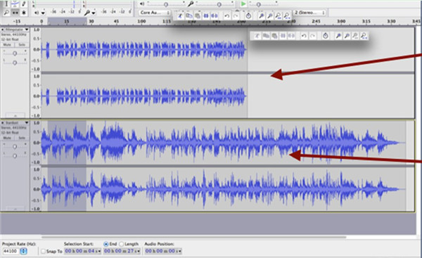 how-to-mix-sound-tracks-with-audacity-drag-7