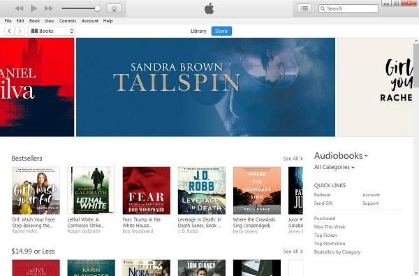 iTunes  AudioBook