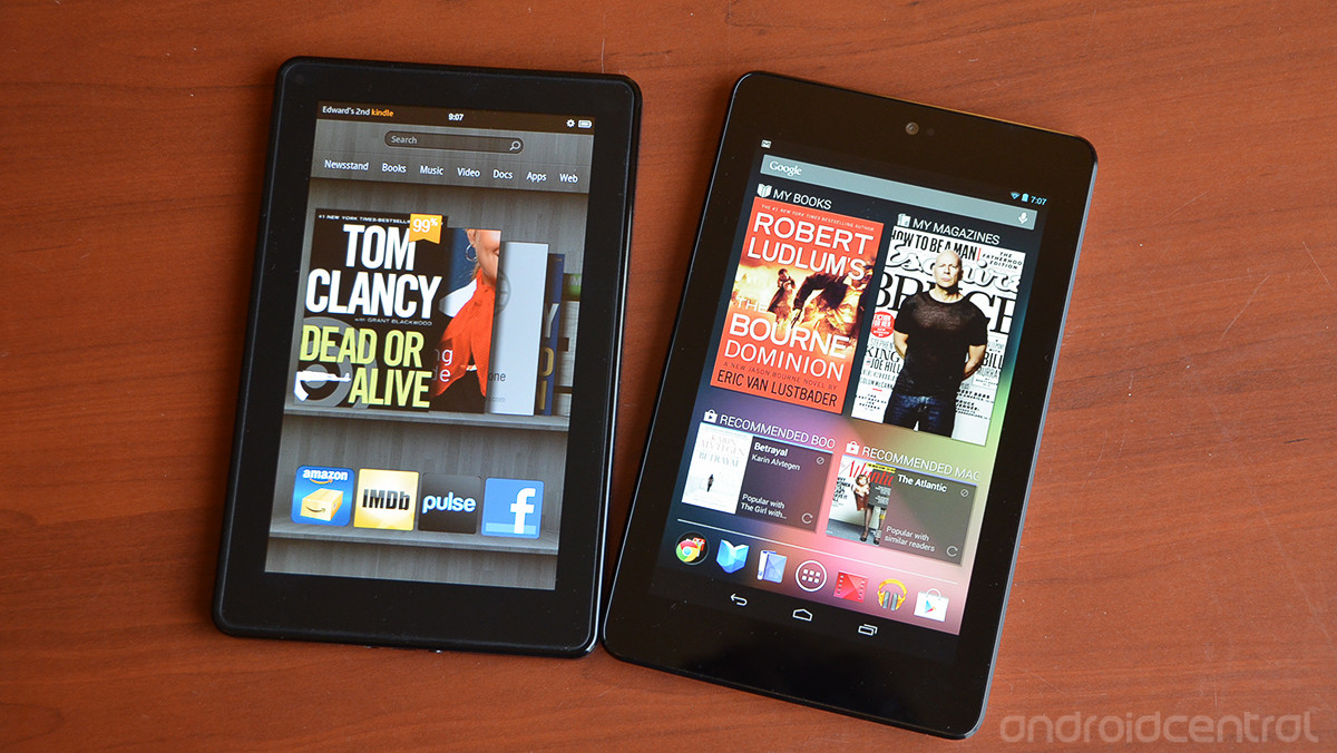 Introduction to Kindle and Google Nexus