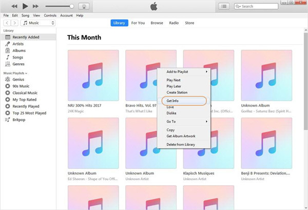 run-iTunes-on-computer-and-choose-get-info-8