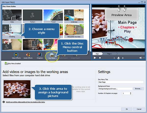 AVS Video Converter-create menu