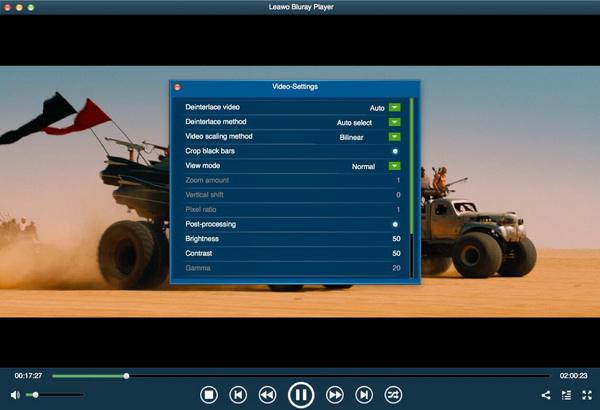 Leawo-bluray-player-set-parameter