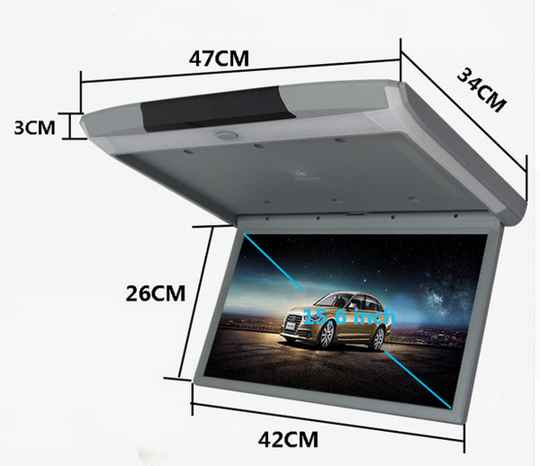 XST 15.6 Inch Android 6.0 Car Monitor Ceiling Mount Roof