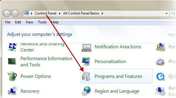 enter-programs-and-features-on-control-panel-7
