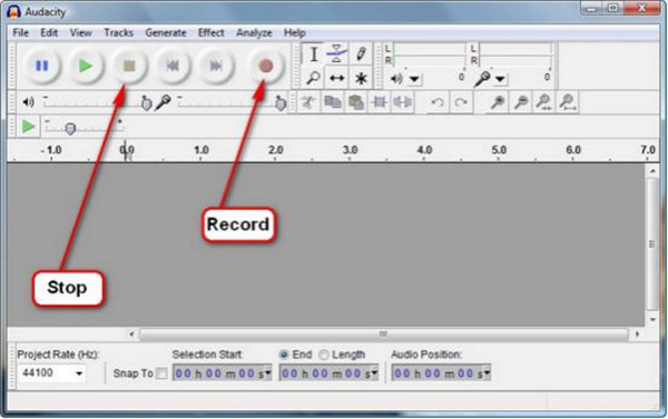 stop-button-and-record-button-on-audacity-11