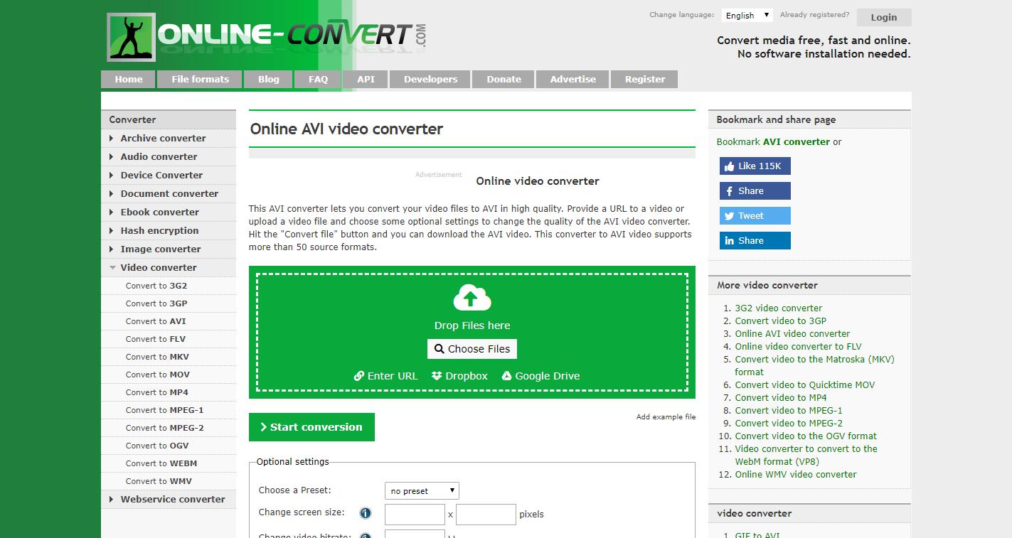 Online Free Video Converter