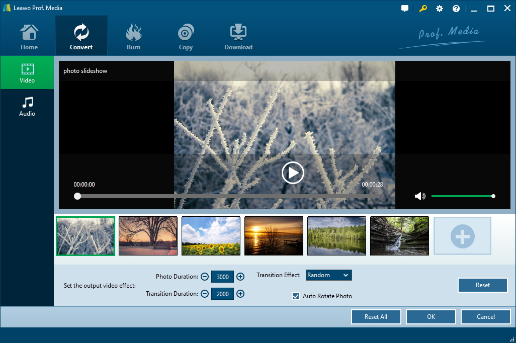 Launch Leawo Video Converter