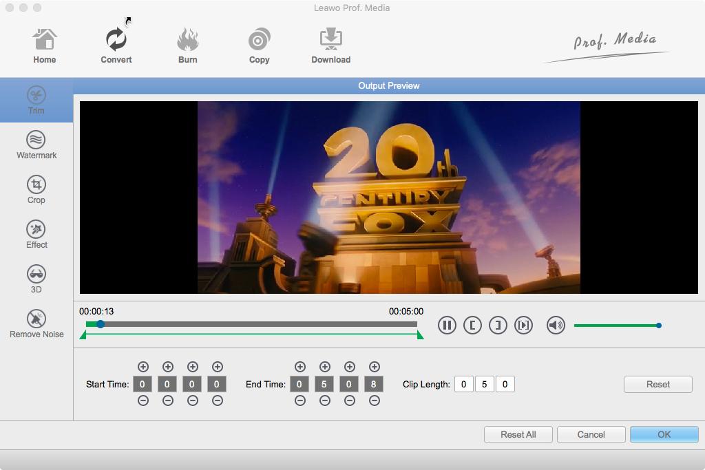 Leawo Video Converter for Mac