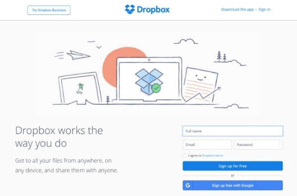 YouTube video with Dropbox