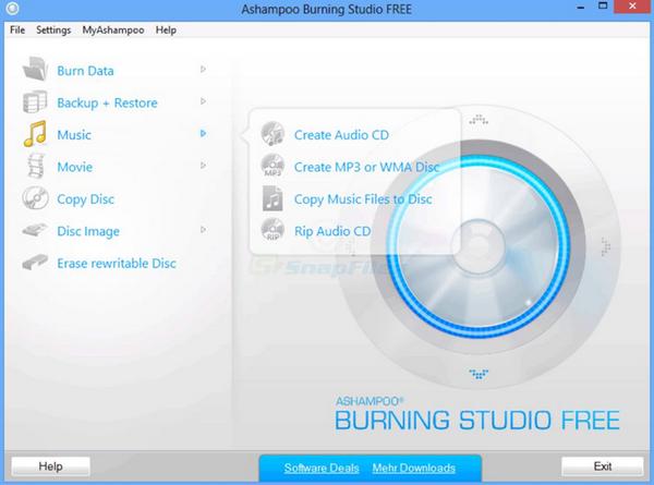 Ashampoo-burning-program