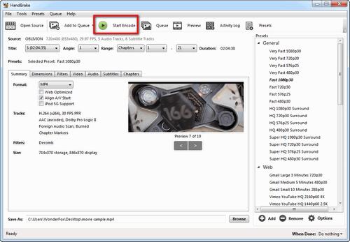 HandBrake-Start-Encode-7