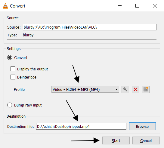 choose-a-Destination-file-VLC-15