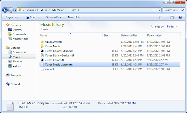 Set output directory