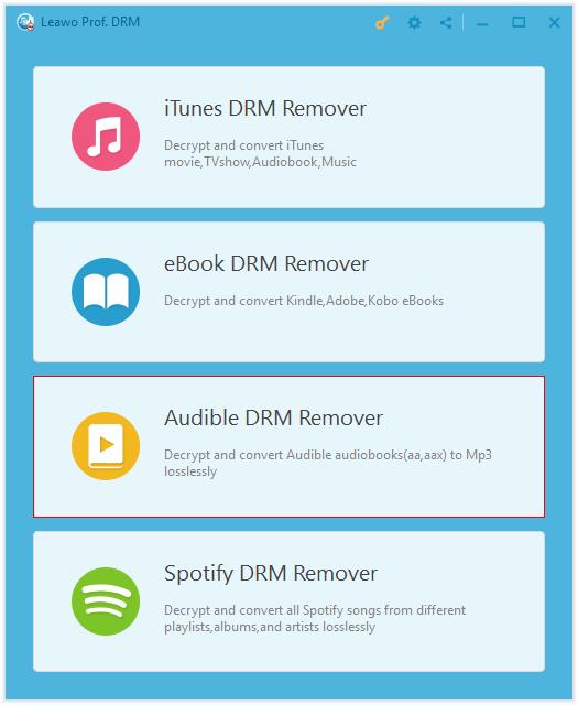 Open Leawo Spotify DRM Remover