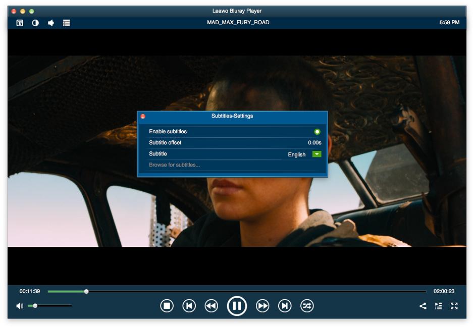 Launch Leawo Blu-ray Player