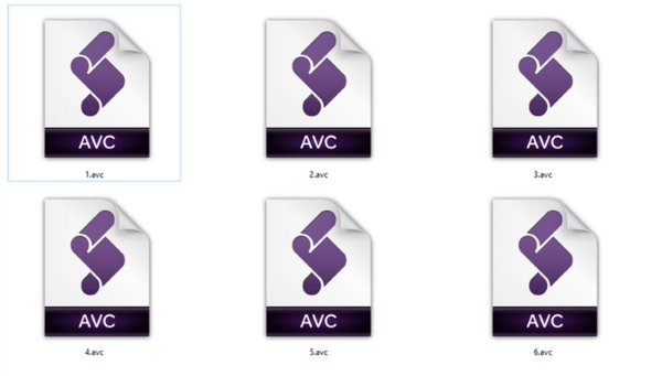 about-AVC-file