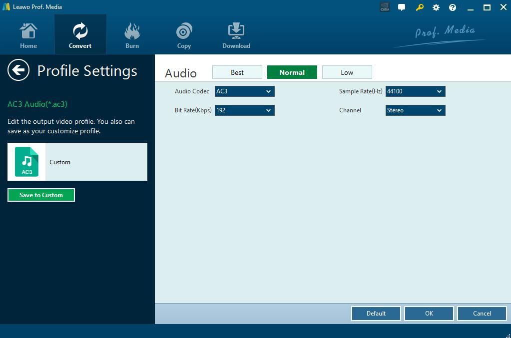 set-audio-parameters-Leawo-DVD-Ripper-4