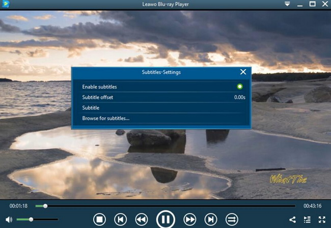 How-to-Adjust-Subtitles-in-Leawo-Blu-ray-Player 1