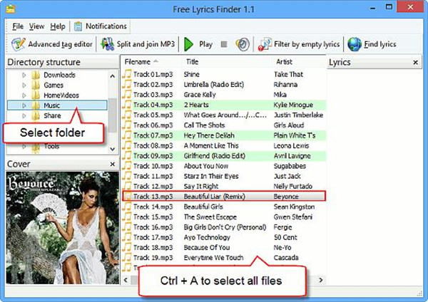 choose-MP3-format-songs-and-click-on-find-lyrics-button-8