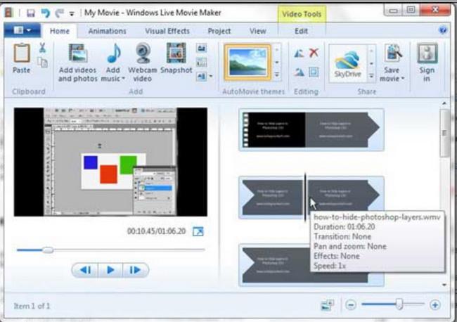 how-to-split-video-in-Windows-Movie-Maker 1
