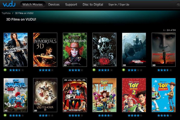 How to get 3D movies on Vudu | Leawo Tutorial Center
