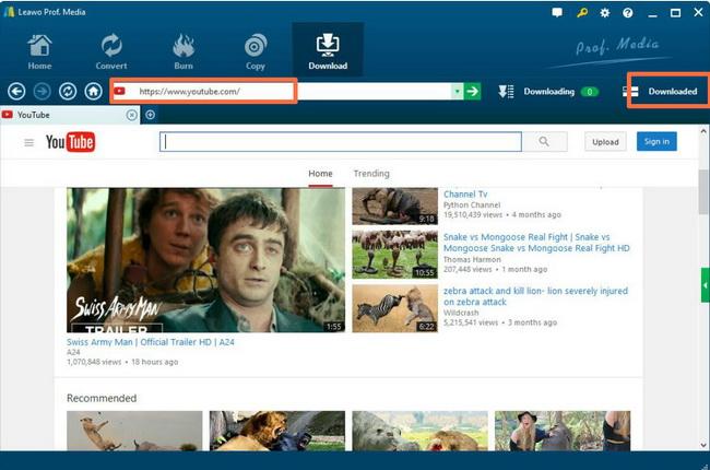 Leawo-Video-Downloader 1