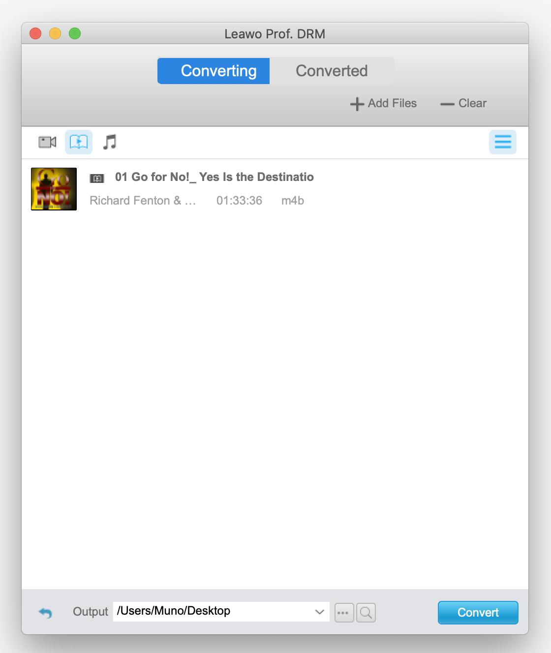 Leawo-prof-setting-output-folder