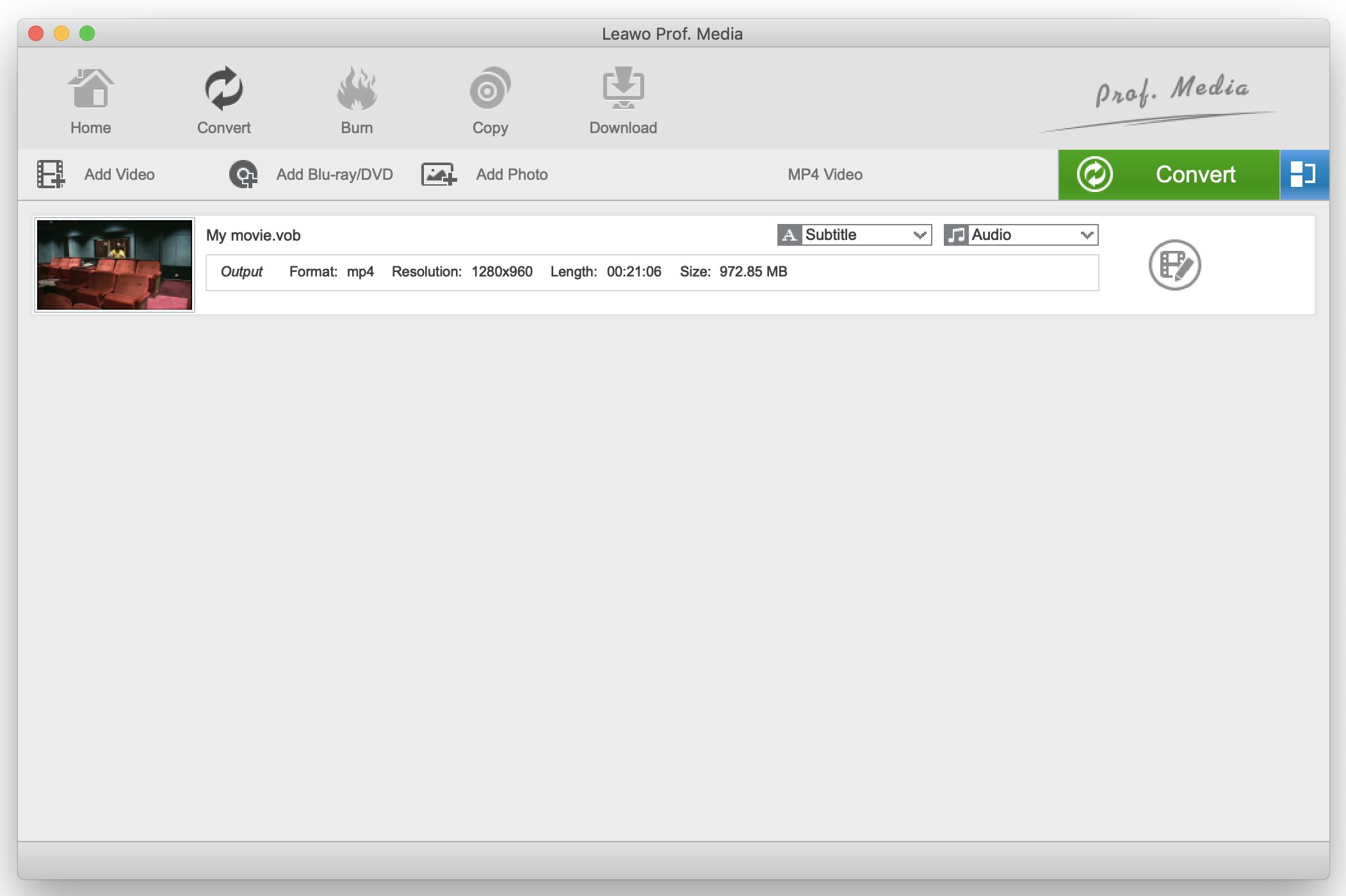 Leawo-subtitle-audio-menu