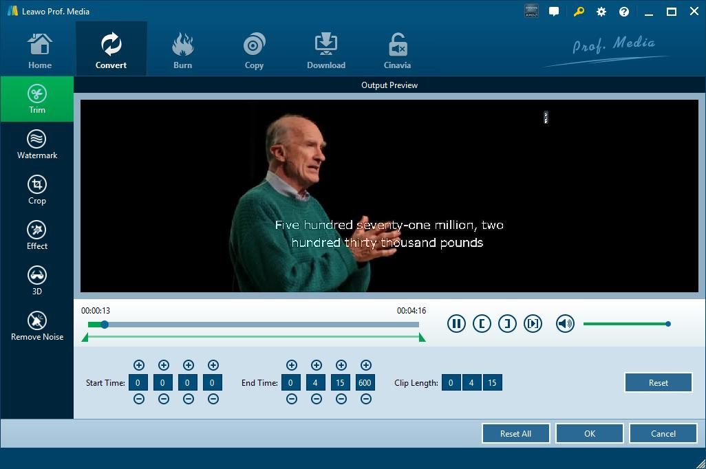 Leawo-video-editing-options