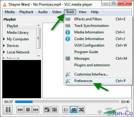 VLC-Tools-Preferences-05