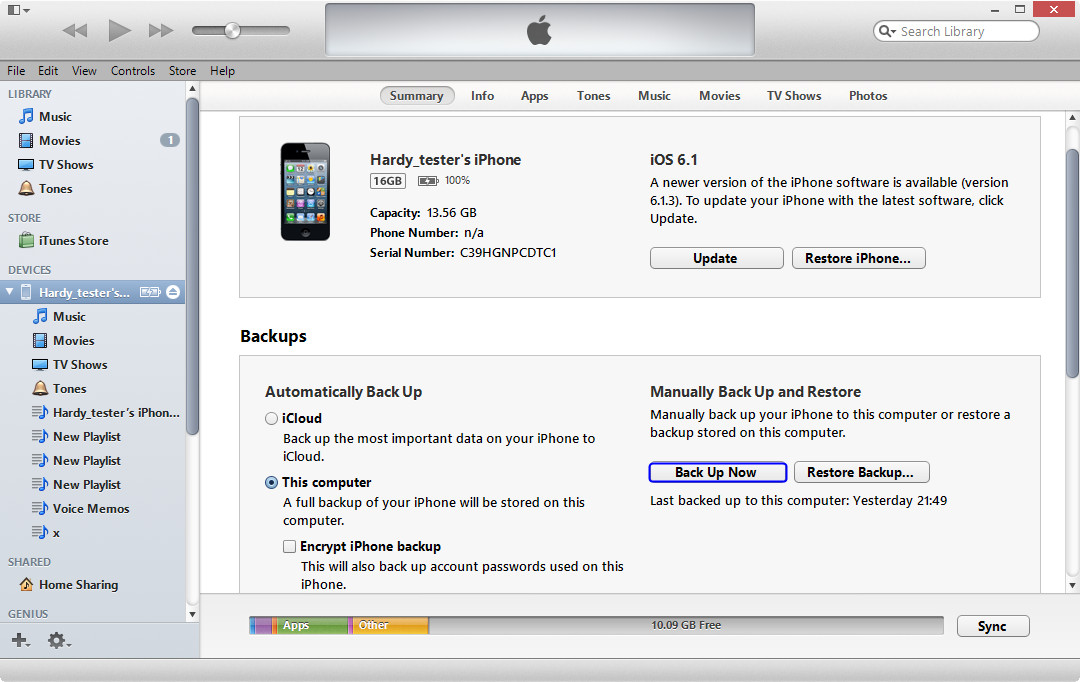 back-up-iphone-to-computer-with-iTunes-10