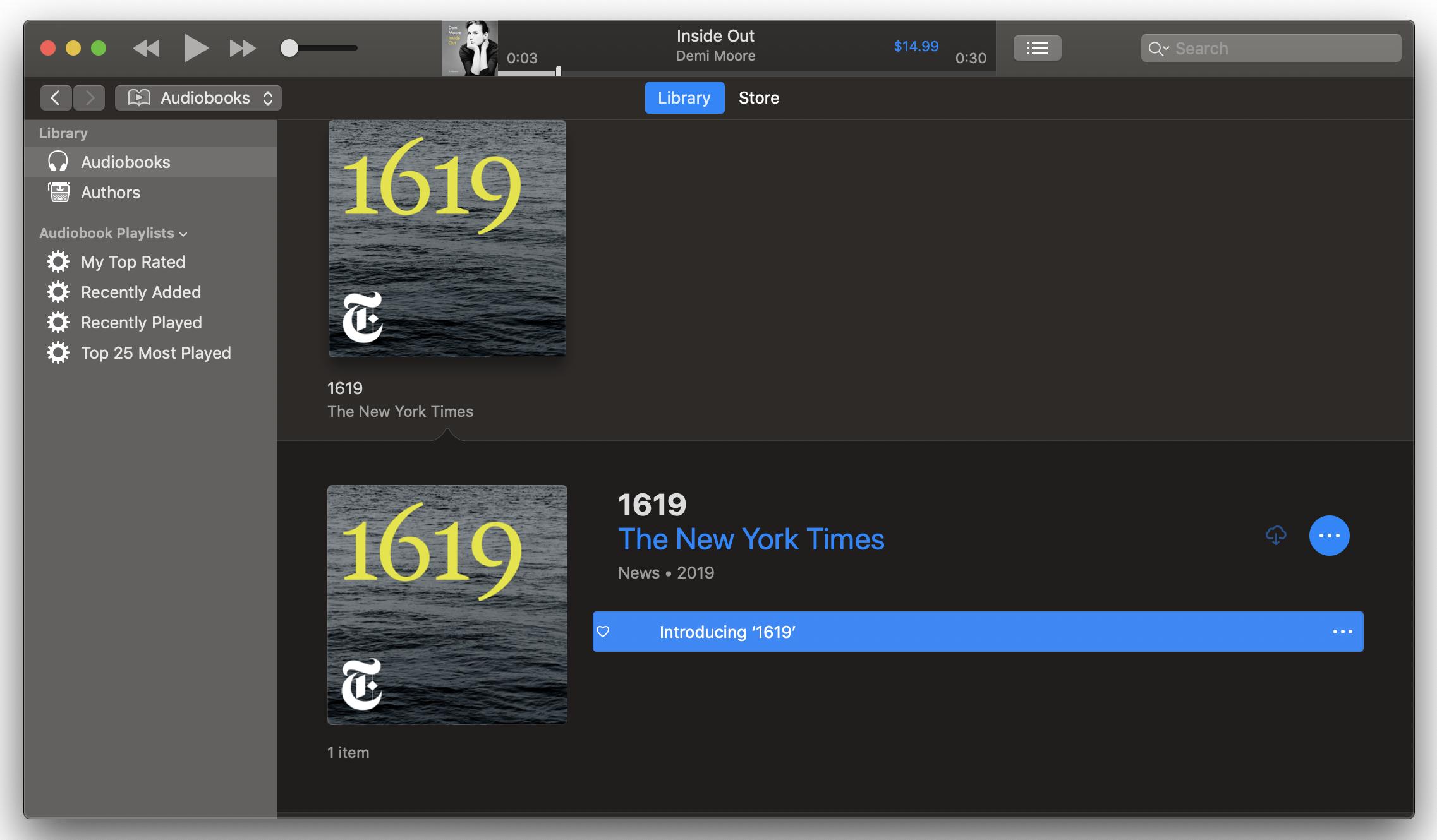 iTunes-audiobooks-section