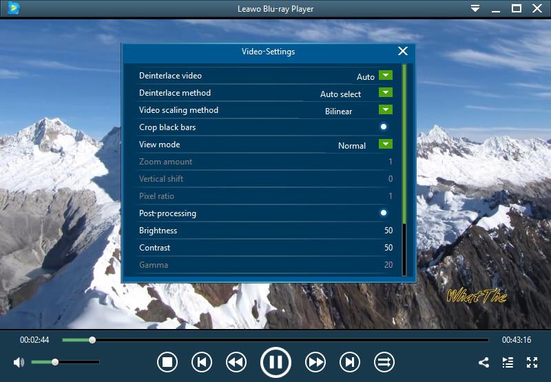 leawo-blu-ray-player-video-setting