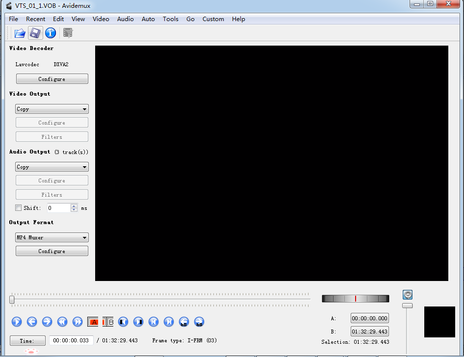 set-output-format-with-Avidemux