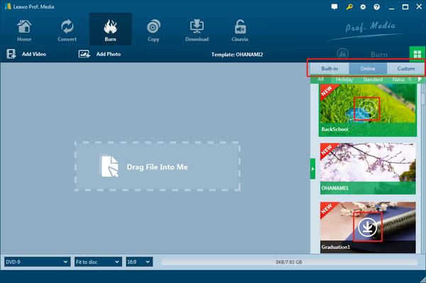 Can i download windows dvd maker menu template   leawo tutorial center.