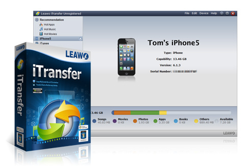 Leawo iTransfer product
