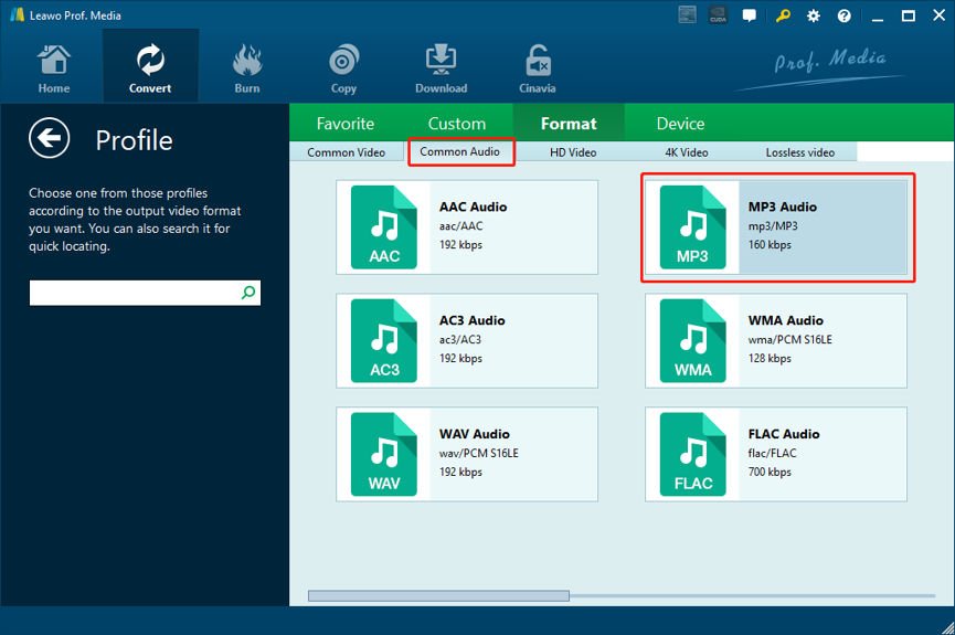 M2TS-to-MP3-Leawo-Video-Converter-select-format-03