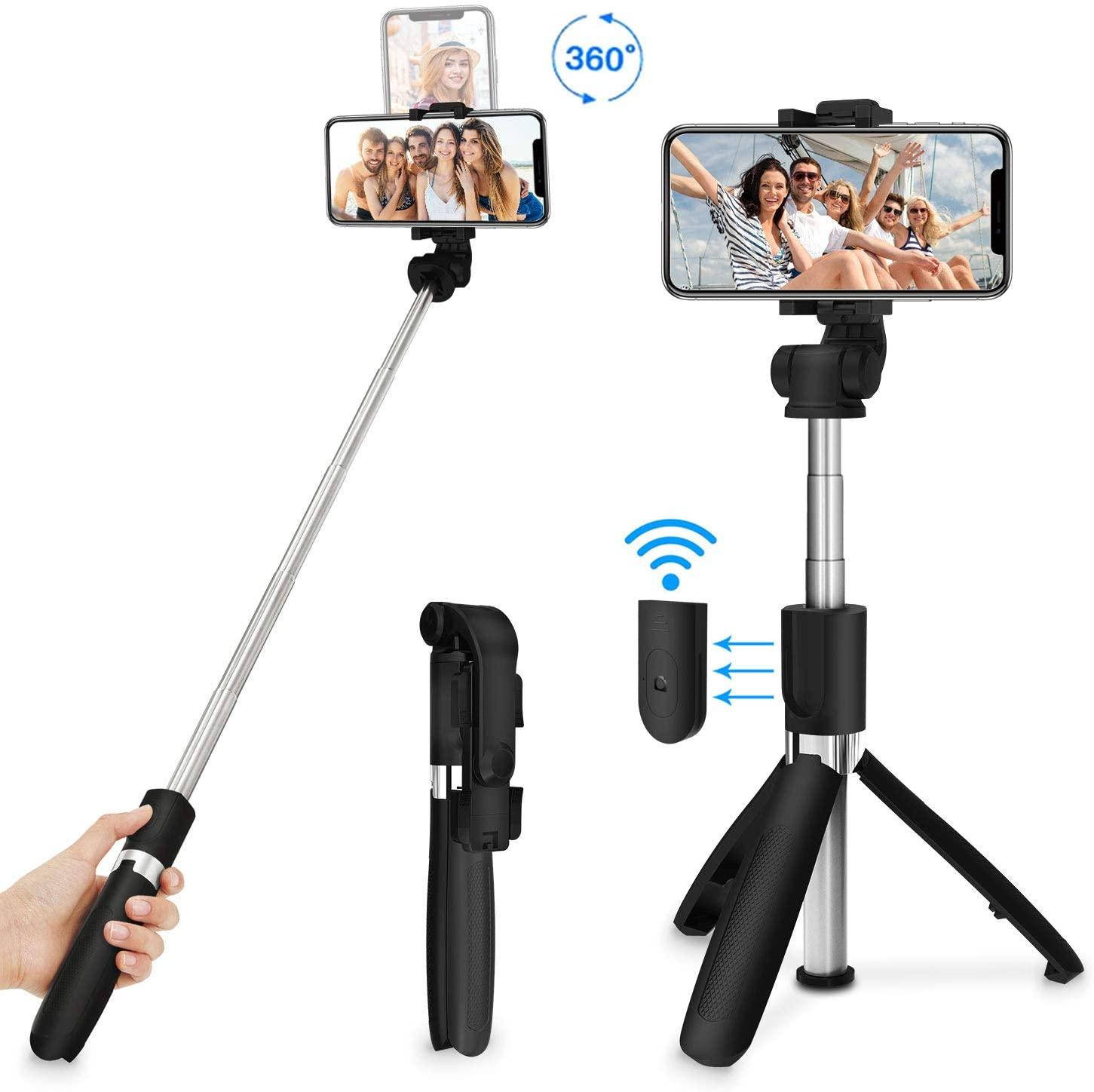 MPOW Selfie Stick Tripod 3 in 1