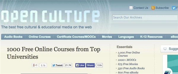 Open-Culture-Online-Courses
